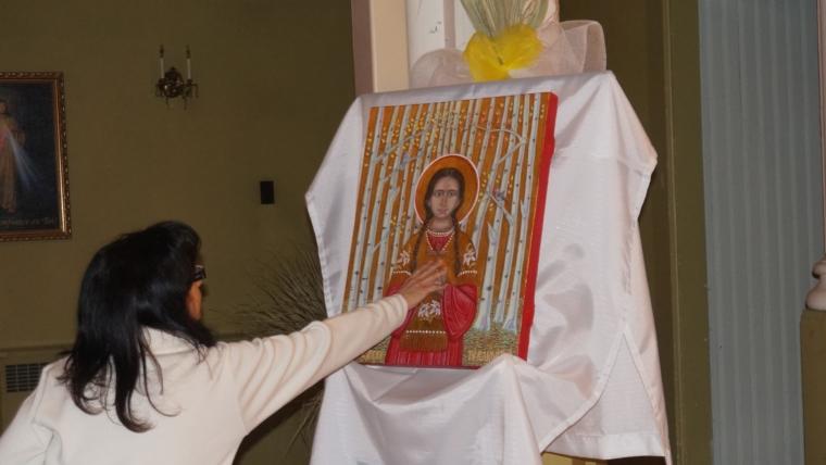Grande fête de sainte Kateri Tekakwitha, le 17 avril dernier