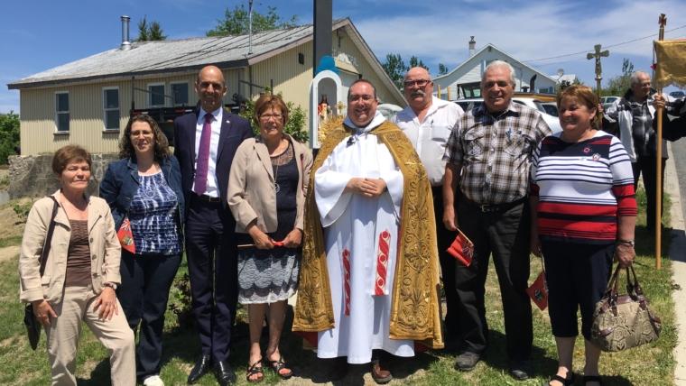 La Fête-Dieu à Saint-Magloire (le 3 juin 2018)